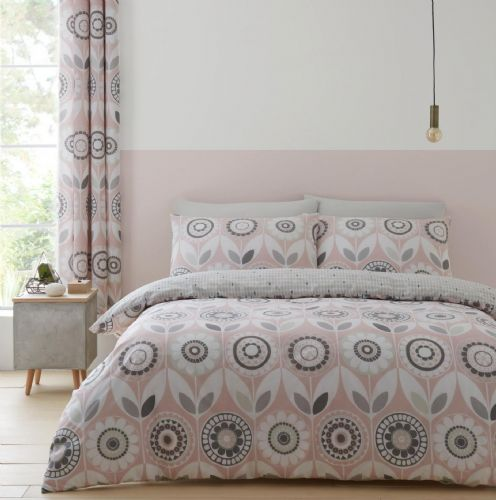 Catherine Lansfield Annika Blush Bedding Set